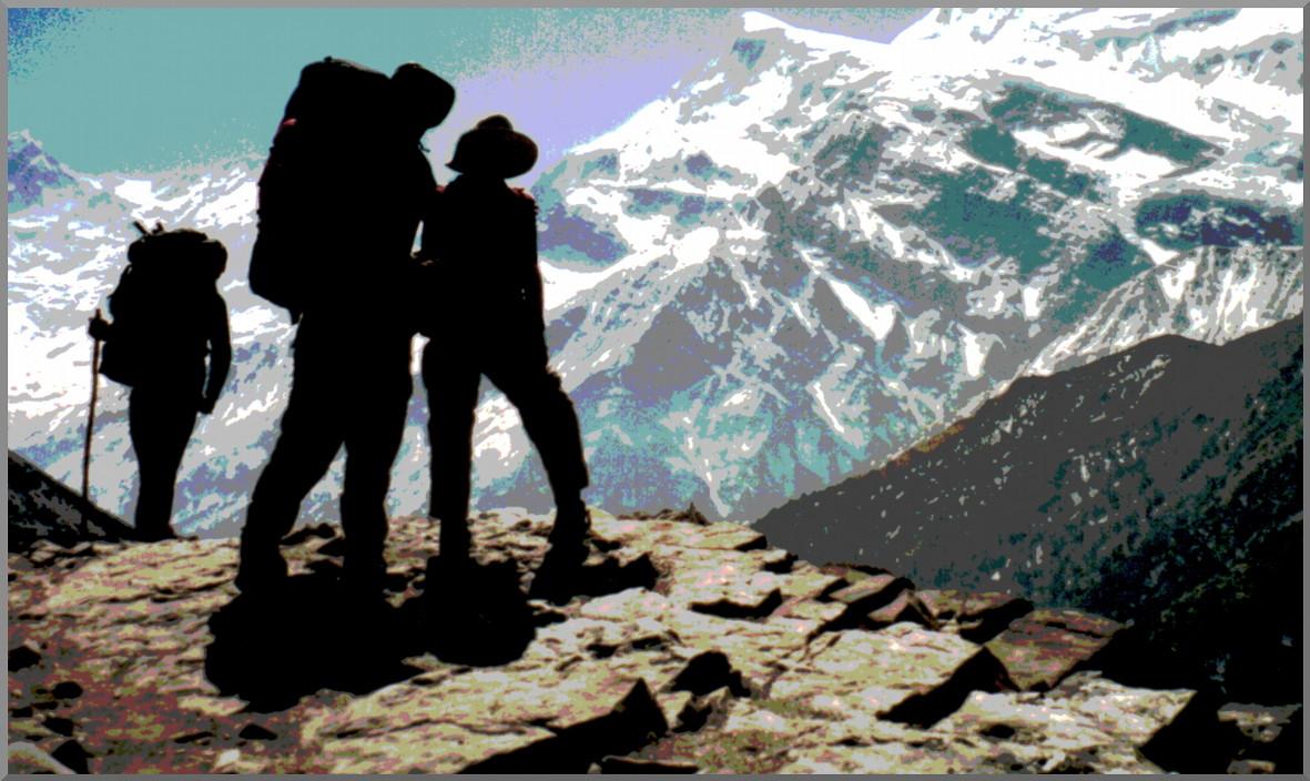 Bild Auf dem Weg zum Gipfel